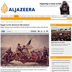 Egypt vs the American Revolution
