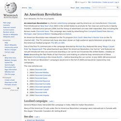An American Revolution - Wikipedia