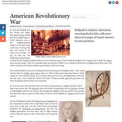 The American Revolutionary War - American History for Kids!