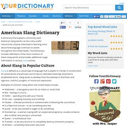 American Slang Dictionary