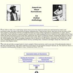 American Slave Narratives