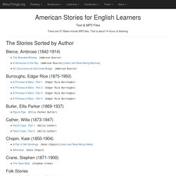 American Stories in Easy English / American Stories in VOA Special English (ESL/EFL)