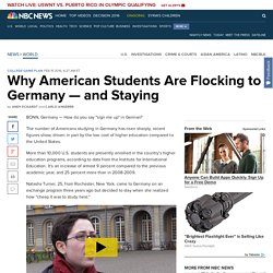 Why American Students Are Flocking to Germany — and Staying