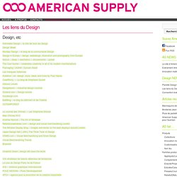 LE BLOG D'AMERICAN SUPPLY » Les liens du Design