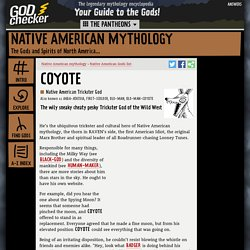 COYOTE - the Native American Trickster God (Native American mythology)