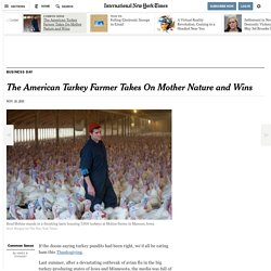 The American Turkey Farmer Takes On Mother Nature and Wins