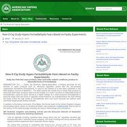 News - The American Vaping Association