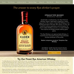 Exceptional Taste and Quality with Best Rye whiskey