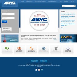 American Boat and Yacht Council (ABYC) - Welcome
