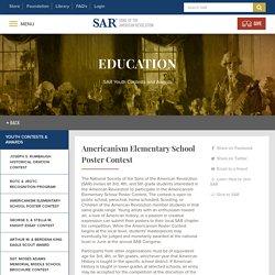 Americanism Elementary School Poster Contest