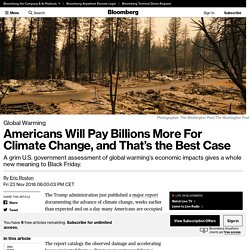 Americans Will Pay Billions More For Climate Change, and That's the Best Case