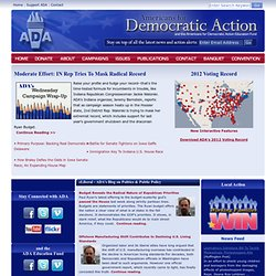 Americans For Democratic Action and ADA Ed. Fund