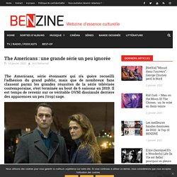 The Americans : une grande série un peu ignorée