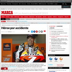 GP Las Américas MotoGP 2015: Héroe por accidente