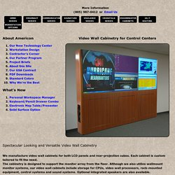 Get the ultimate Furniture and Video Walls services in the USA