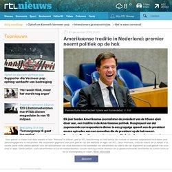 Amerikaanse traditie in Nederland: premier neemt politiek op de hak