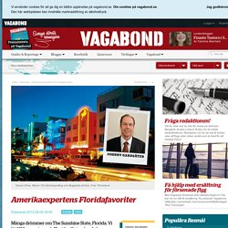 Amerikaexpertens Floridafavoriter