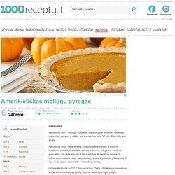 Amerikietiškas moliūgų pyragas - 1000receptu.lt