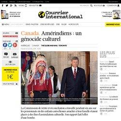Canada. Amérindiens : un génocide culturel