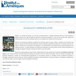 De Gaulle et l''Amérique latine