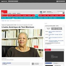 L'autre Amérique de Toni Morrison
