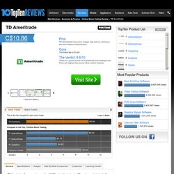 Best Online Brokerage - TopTenREVIEWS