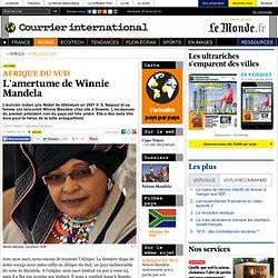L'amertume de Winnie Mandela