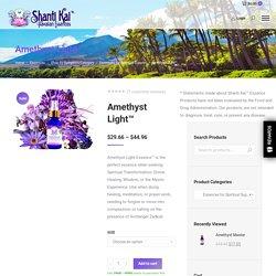 Amethyst Light™: Divine Frequencies of Purple