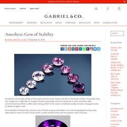 February Birthstone - Gabriel Blog