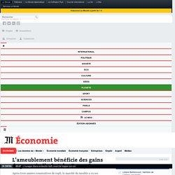 L'ameublement bénéficie des gains de pouvoir d'achat des Français