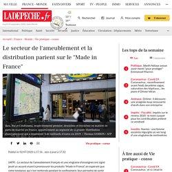 """Le secteur de l'ameublement et la distribution parient sur le """"Made in France"""""""