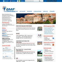 AMF : Association des Maires de France