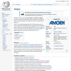 Amgen Wikipedia