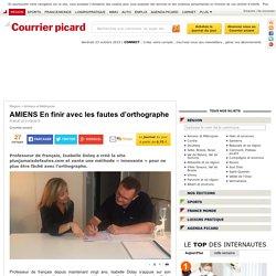 AMIENS En finir avec les fautes d'orthographe - Amiens et Métropole