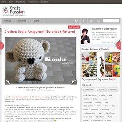 Koala Bear Amigurumi