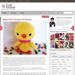 Baby Chick Amigurumi
