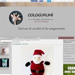 """Tuto amigurumi - Père Noël - Tout sur le crochet et les """"Amigurumis""""!"""