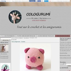 "Tuto amigurumi : Cochon - Tout sur le crochet et les ""Amigurumis""!"