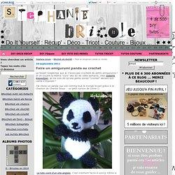 Faire un amigurumi panda au crochet