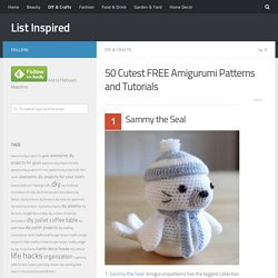 50 Cutest FREE Amigurumi Patterns and Tutorials