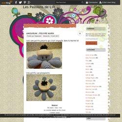 AMIGURUMI : Pieuvre marin - Les Passions de Lili