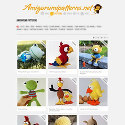 Download free amigurumi patterns