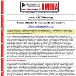 AMINA Ba