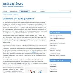 aminoacido.eu — Su portal de internet sobre aminoácidos