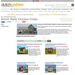 Amish Chicken Coops