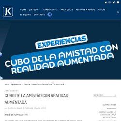 CUBO DE LA AMISTAD CON REALIDAD AUMENTADA