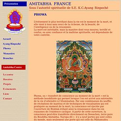 Amitabha France - association