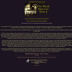 Amityville Horror - Was it a hoax? The Real Horror - Castle of Spirits.com