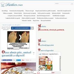 Olasz almás pite, amivel garantált a sikered! - Ketkes.com