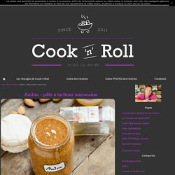 Amlou - pâte à tartiner marocaine